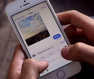 """Diminua o tamanho do teclado """"Minuun"""" para visualizar imagens e mensagens recebidas"""