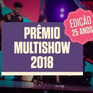 Lista com todos os artistas que se apresentarão no Prêmio Multishow 2018 é divulgada!