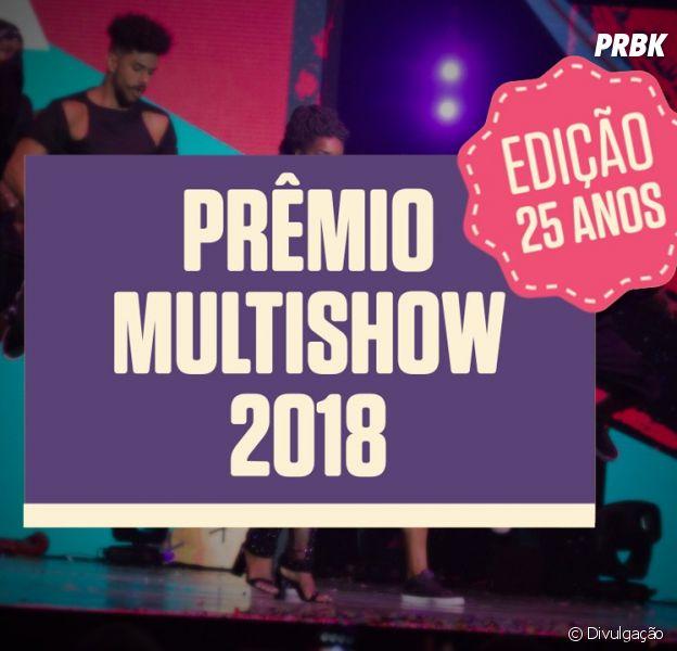 Prêmio Multishow 2018 tem todas as suas atrações confirmadas. Veja a lista!