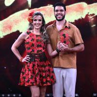 """Pâmela Tomé cai duas posições na """"Dança dos Famosos 2018"""" e Mariana Ferrão assume liderança!"""