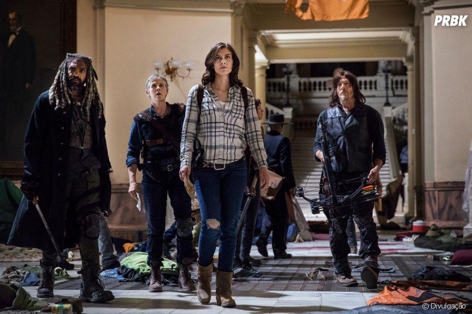 """Em ''The Walking Dead"""", 9ª temporada já está sendo apresentada para críticos"""