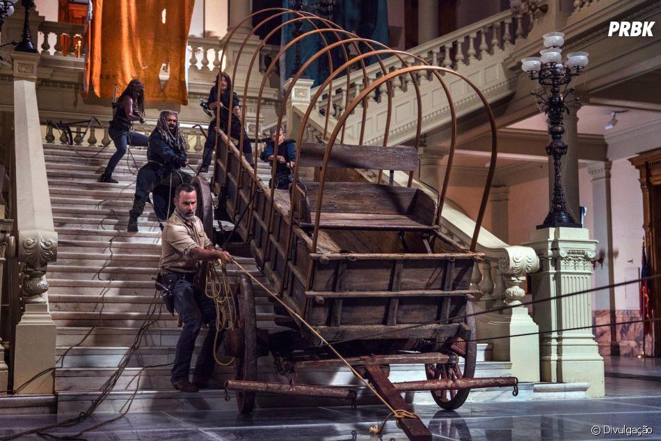 Em ''The Walking Dead'', 9ª temporada será tensa demais e mostrará conflitos!