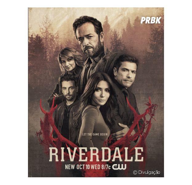 """Em """"Riverdale"""", pôster mostra pais dos protagonistas e aviso macabro volta a aparecer!"""