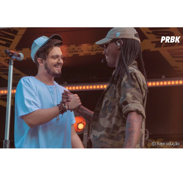 """Luan Santana e MC Kekel lançam clipe de """"Vingança"""" e colocam todo mundo pra dançar!"""