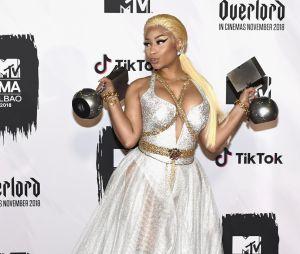 Nicki Minaj marcou presença e levou prêmios no EMA 2018