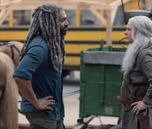 """Em """"The Walking Dead"""", na 9ª temporada: veja as fotos do salto temporal de seis anos"""