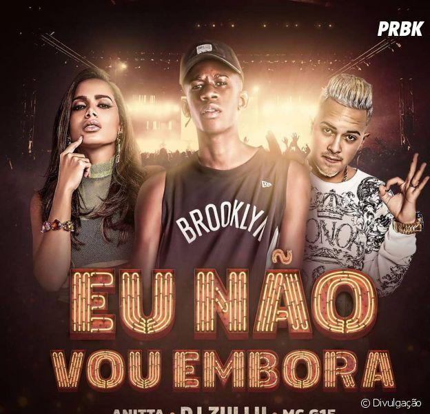 """DJ Zullu lança parceria com Anitta e MC G15, """"Eu Não Vou Embora"""""""