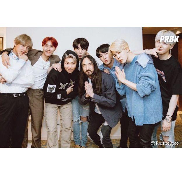 "Steve Aoki lança clipe da parceria com BTS, ""Waste It On Me"""