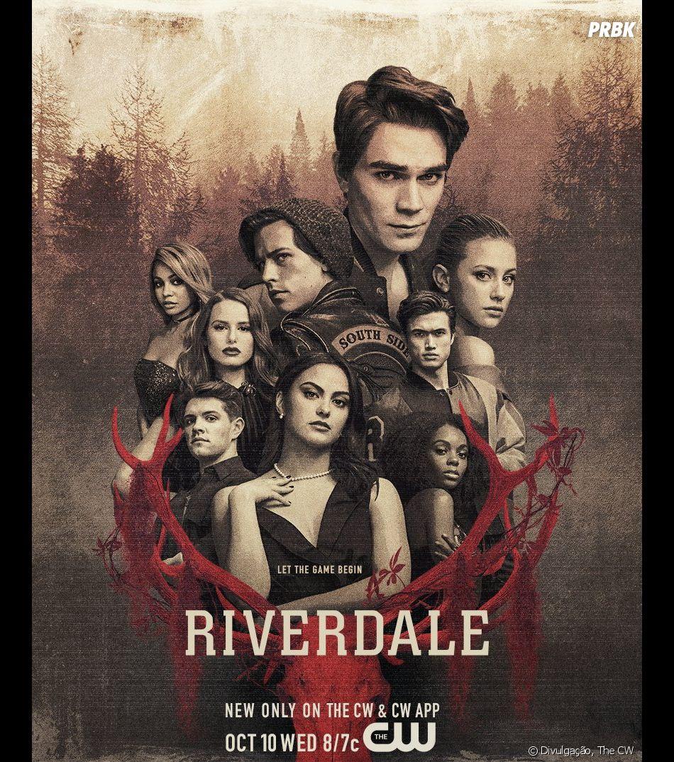 """Em """"Riverdale"""": Archie (KJ Apa) de caso novo, Betty (Lili Reinhart) em perigo e Veronica (Camila Mendes) pode perder negócio em nova promo"""