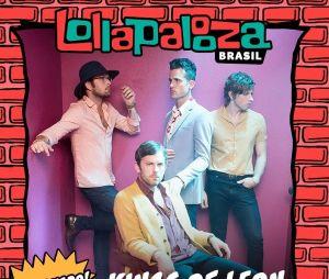 Lollapalooza 2019: Kings Of Leon é confirmada no line-up do festival