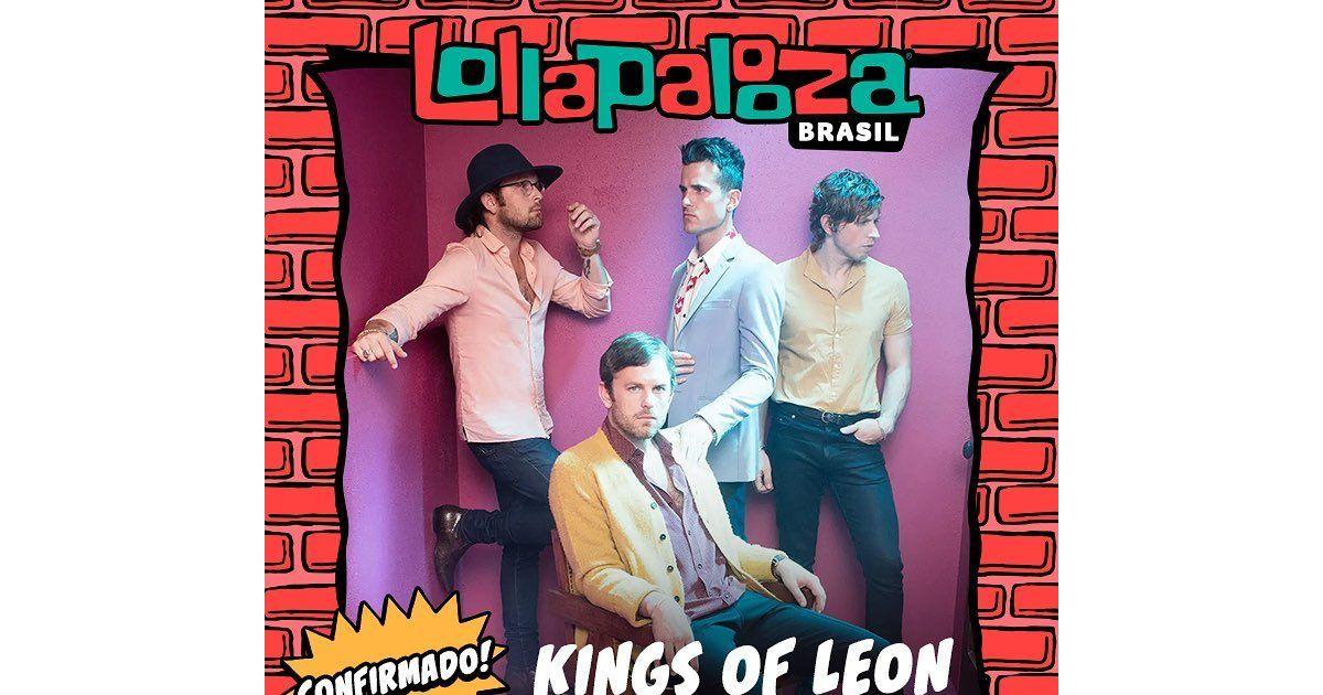 Kings Of Leon é confirmada no Lollapalooza 2019 e os fãs estão loucos de  alegria! - Purebreak 72e38ea9603