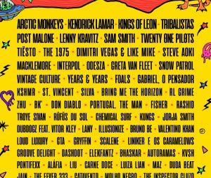 Lollapalooza 2019 vai ter Kings Of Leon!