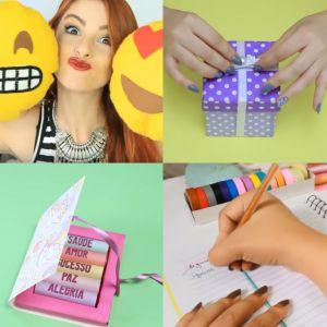 Não sabe o que dar de Natal? Esses vídeos de DIY podem te inspirar nos presentes!