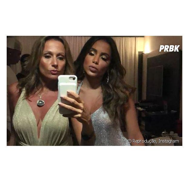 Anitta recebe ajuda de Luisa Mell para mudar hábitos
