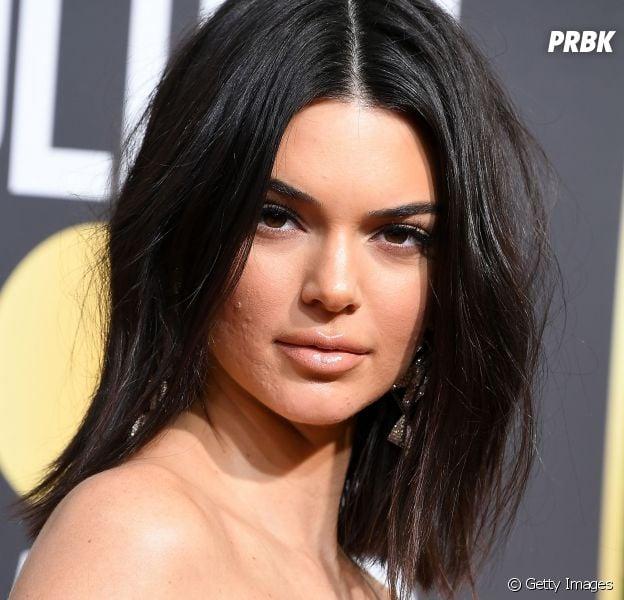Kendall Jenner volta falar sobre o episódio envolvendo suas espinhas no Globo de Ouro 2018