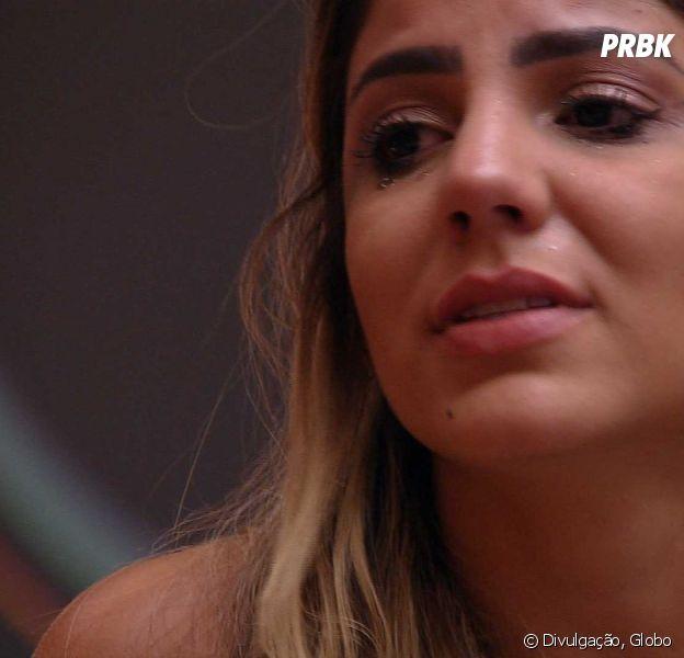 """No """"BBB19"""", Hariany chora em conversa com Diego"""