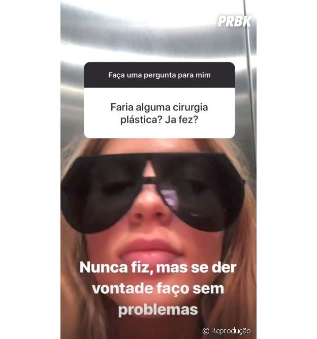 Luísa Sonza fala sobre cirurgia plástica
