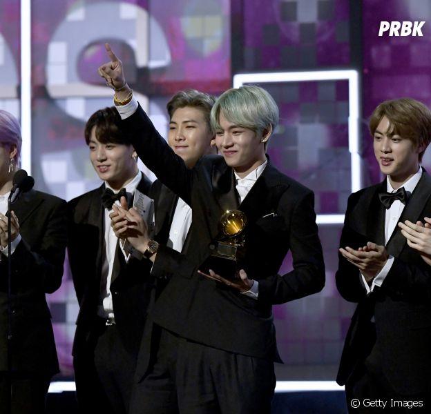 Durante o Grammy Awards 2019, BTS confirma novo álbum