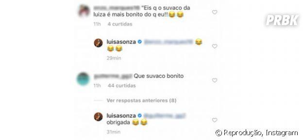 Luisa Sonza tem axilas elogiadas por seguidores do Instagram