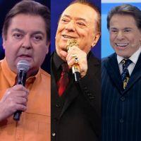 Você consegue escolher entre Faustão, Raul Gil ou Silvio Santos neste jogo de Casa, Mata ou Pega?