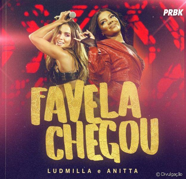 """Anitta e Ludmilla irão lançar """"Favela Chegou"""" no dia 27 de fevereiro"""