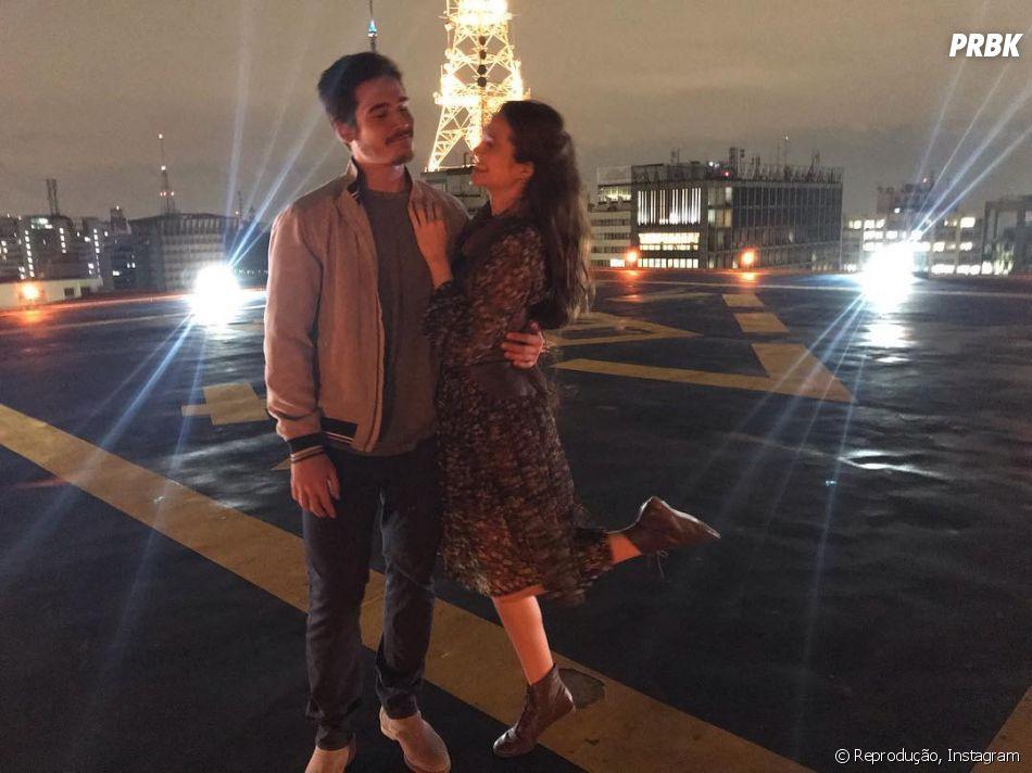 Juliana Paiva e Nicolas Prattes não estão mais juntos, dizem fontes