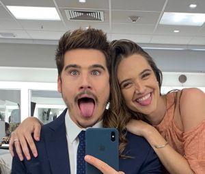 Juliana Paiva e Nicolas Prattes terminaram o namoro após quase um ano