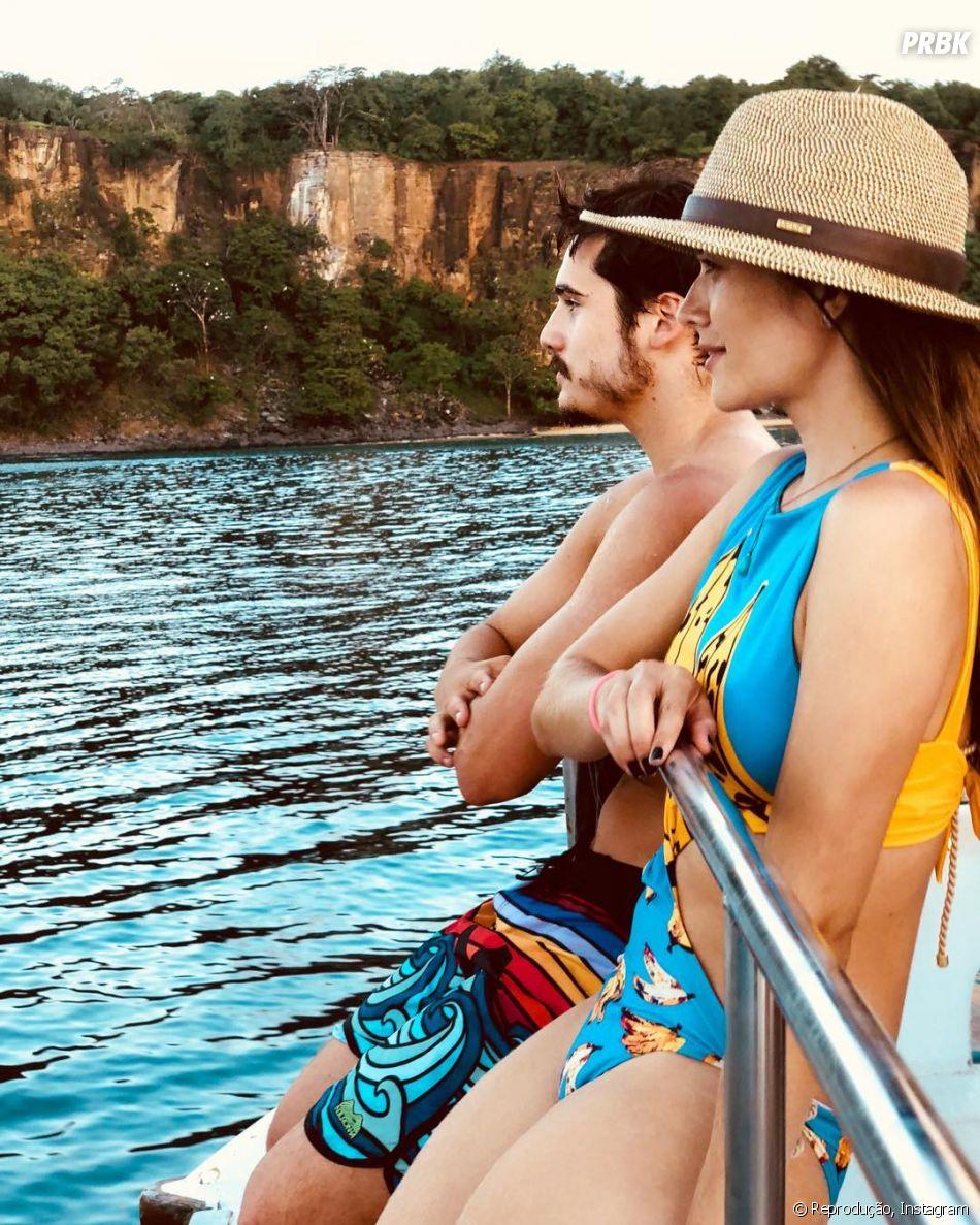 """Nicolas Prattes e Juliana Paiva se conheceram nos bastidores de """"O Tempo Não Para"""""""