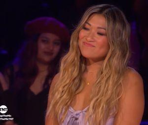 """Elenco de """"Glee"""" troca provocações durante batalha de rimas no programa """"Drop The Mic"""""""