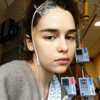 """A Emilia Clarke esteve bem mal durante as gravações de """"Game of Thrones"""" e tem foto pra provar"""