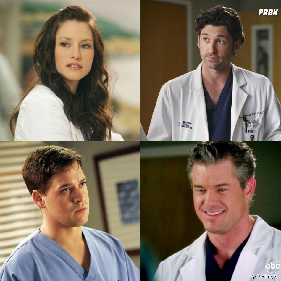 """Aliás, na 15ª temporada de """"Grey's Anatomy"""" rolou uma homenagem aos personagens que morreram"""