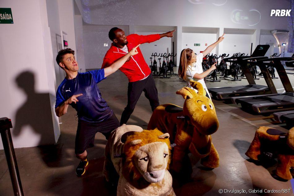 """Maisa aposta corrida com Usain Bolt no """"Programa da Maisa"""""""