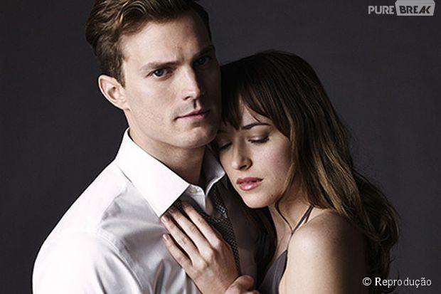 Jamie Dornan e Dakora Johnson são os protagonistas do romance erótico.