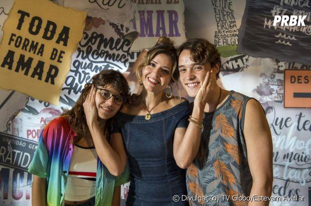 """""""Malhação - Toda Forma de Amar"""": Carla (Mariana Santos) é mãe de Raíssa (Dora de Assis) e Thiago (Danilo Maia)"""