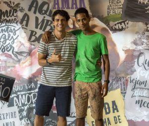 """""""Malhação - Toda Forma de Amar"""":Guga (Pedro Alves) e Serginho (João Pedro Oliveira) podem formar um casal"""
