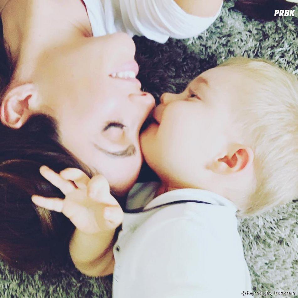 Anahi está se dedicando a Manuel, seu primeiro filho com Manuel Velasco