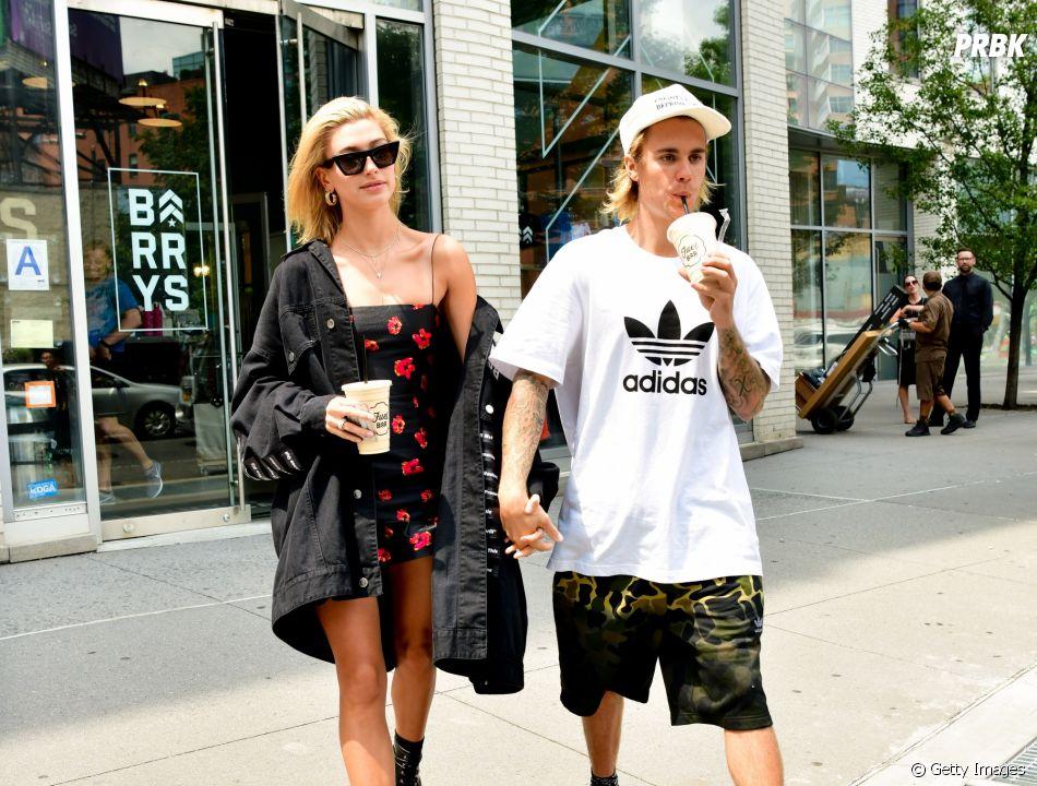 Justin e Hailey Bieber vivem trocando declarações nas redes sociais