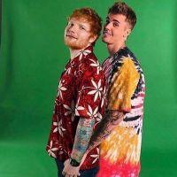 """Retorno duplo! Ed Sheeran e Justin Bieber finalmente lançam """"I Don't Care"""" e já estamos dançando!"""