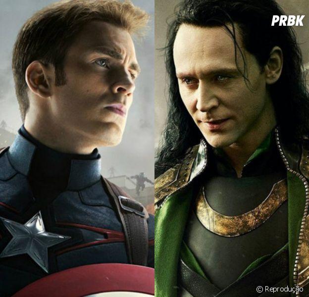 Capitão América (Chris Evans) pode aparecer na série do Loki (Tom Hiddleston) no Disney+