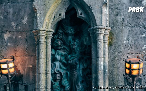 """""""Harry Potter"""": nova atração """"Hagrid's Magical Creatures Motorbike Adventure"""" vai passar pela Floresta Proibida e entrar nas ruínas abandonadas de Hogwarts"""