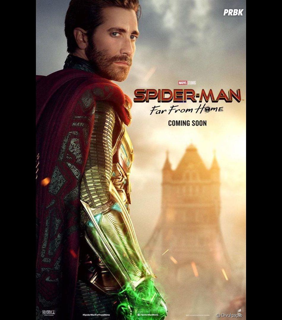 """Em """"Homem-Aranha: Longe de Casa"""", veja como Mysterio (Jack Gyllenhaal) estará no filme"""