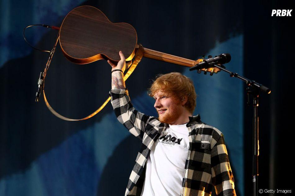 """""""Cross Me"""", de Ed Sheeran com Chance the Rapper e PnB Rock, tem uma pegada hip hop e é bem chiclete"""