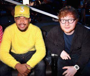 "Recentemente, Ed Sheeran lançou ""Cross Me"", parceria com Chance the Rapper"
