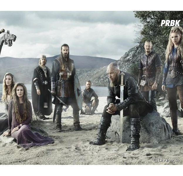 """""""Vikings"""" é a série perfeita se você gosta de Mitologia Nórdica, muitas batalhas e reviravoltas"""