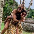 Ludmilla e Brunna Gonçalves já estão namorando há sete meses