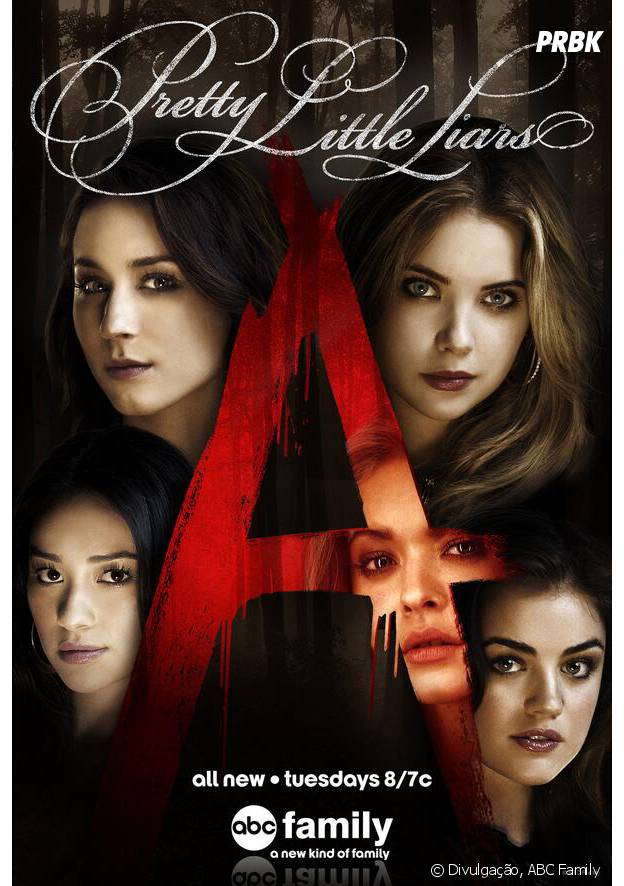 """Pretty Little Liars"" vai até a 7ª temporada!"