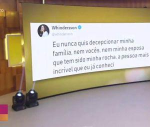 """""""Encontro com Fátima Bernardes"""" mostrou Whindersson Nunes falando sobre sua depressão e ajuda de Luisa Sonza"""