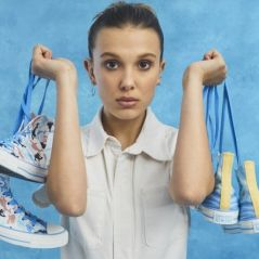 Millie Bobby Brown acaba de lançar sua própria linha de tênis e nós já queremos comprar todos