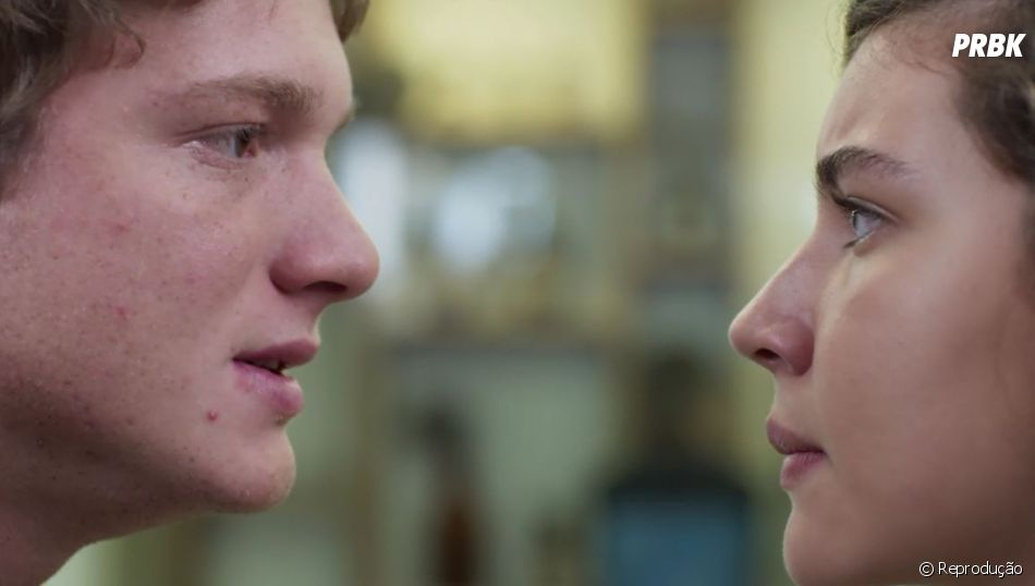 """""""Malhação"""":Rita (Alanis Guillen) pergunta se Filipe (Pedro Novaes) topa ser só amigo dela em """"Toda Forma de Amar"""""""