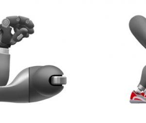 São emojis de cães-guias, cadeirantes, membros prostéticos e pessoas com deficiência auditiva e visual